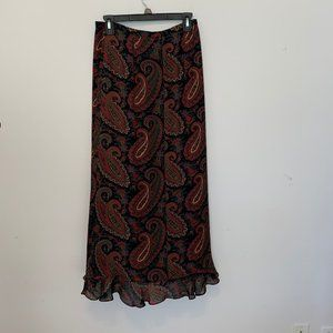 Harold's Skirts - HAROLDS LINED SILK MAXI SKIRT SIZE 6